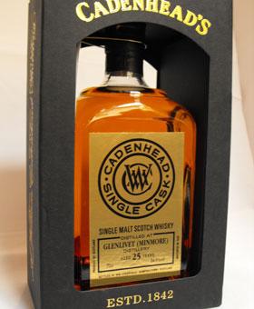 Glenlivet (Minmore) Distillerty 25 Year Old