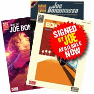 Joe Bonamassa Tab Books, Hand Signed Available