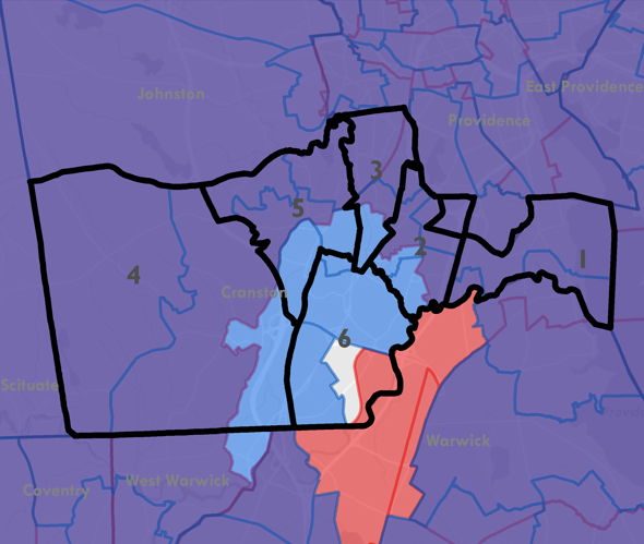 Image of who benefits from prison gerrymandering in Cranston, RI