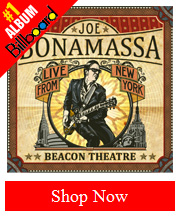 Joe Bonamassa Beacon Theatre CD- Double Disc Set